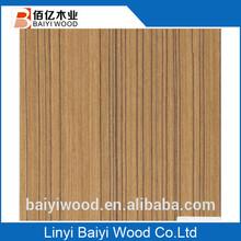 high quality decorative texture 0.5mm wood veneer / engineered veneer