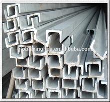 304 / 306l stainless steel unistrut u channel with american standard