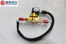 612600190336 weichai truck CNG parts diesel fuel shut off solenoid valves