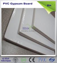 White Color Gypsum 60x60 PVC Ceiling Tiles 7mm