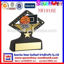 hot sale golden color sports awards & trophy for basketball