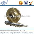 AGDL2-36R1 m2 high precision standard full depth composite brass worm gear wheel