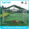 low price low MOQS heavy duty galvanized chain link iron dog cage