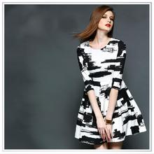 Individual customized high quality digital printting cotton poplin fabrics,zebra stripes pattern