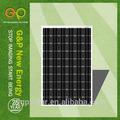 Haute efficacité faible prix siemens panneaux solaires