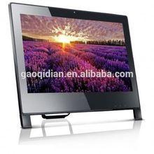 Low Price 22 Inch Desktop Computer Aluminum Case Wifi Bluetooth D525/I3/I5 China Price Latest Desktop Computer Models
