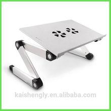 Portable computer desk folding table