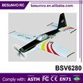 3ch 2.4g avião rc red bull rtf controleremoto brinquedo avião planador