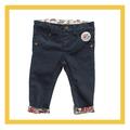 Chica de moda lápiz pantalones vaqueros pantalones/chic niños pantalones vaqueros de invierno