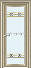aluminium bathroom door wiht good performance