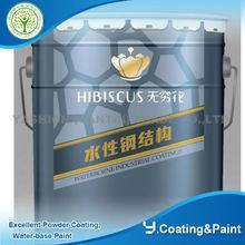 Water borne Decorative steel Anti-rust coating