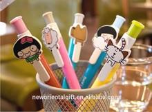 2014 funny cartoon ball pen made in China