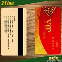 Magnetic writing/encoding Hico/loco Mag stripe PVC cards