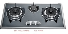 House Hold Hot Selling Stainless Steel 3 Burner Embedded Built-in Gas Stove