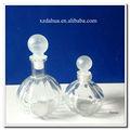 citrouille en forme de bouteille de parfum en verre avec bouchon de remplissage