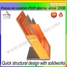 small plastic card display plexiglass poster case holder