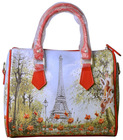 personalized women handbags high quality digital print lady bag waterproof 100% cotton SM021