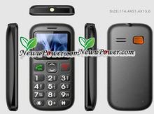 W76 Emergency mobile phone Cheap big keyboard sos elderly phone made in china