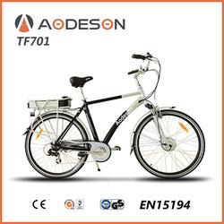 700C e bike cycling electric bicycle 250w hub motor rear wheel,city e-bike TM701