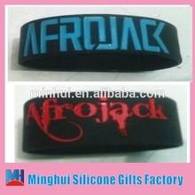 Imported AFROJACK band wristband(double side ENGRAVED I.e. DEBOSSED)