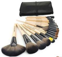 wholesale!!! 24 pcs professional high quality custom makeup brushes