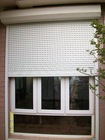 Sound proof louvers PVC residential glass window shutters