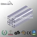 constmart preço competitivo pó branco revestido de alumínio perfil de decoração