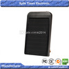 universal solar mobile charger case 2600mAh Backup Battery Charger for MP3 PDA Phone Black