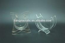 High quality countertop cylinder acrylic fish aquarium