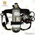 Equipo de respiración autónomo ( SCBA ) con alta presión 9L de fibra de carbono cilindro - Ayonsafety
