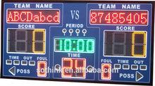 High quality digital LED basketball scoreboard
