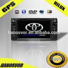 HANOSVOR Double Din Toyota Universal Navigation DVD Car GPS Radio Multimedia System