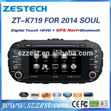 ZESTECH OEM car multimedia for kia soul 2014 car audio video gps navigation system in-dash dvd players car automobile