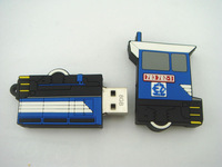 truck shape pvc usb stick,cartoon usb flash drive 2.0