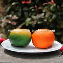 Artificial Fruits, Artificial Foam Lemon, promotional Artificial Orange fruits