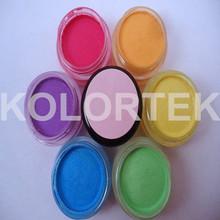 Neon Cosmetics, Fluorescent neon color pigment, Ten Colors