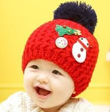 Hot Selling Christmas Decoration Children Santa Hat