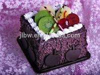 Nice fashion cake shape piggy bank for promotion gift .
