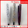 mini flat iron hair straightener car used mini hair straightener,110-240V,zebra color,#199