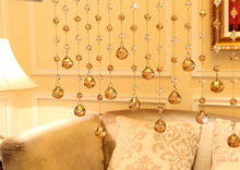 Wedding decorative Crystal Crafts Room Curtain Crystal Curtain