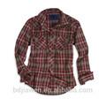 Deux poches mens shirt usine, vêtements homme, chemise sur mesure fabriqués en chine