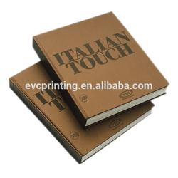 Custom photographic hardcover book printing