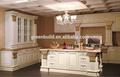 Projeto do armário de cozinha de madeira pré-fabricada