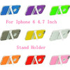 With Desk Stand TPU Cell Phone Cover for Iphone 6 4.7 Inch Mobile Accessories