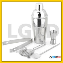 5-in-1 Stainless Steel Cocktail Martini Shaker Mixer, 550ml