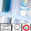 Zhuoyue 100% Bayer material 10 years guarantee multi wall sun sheet polycarbonate
