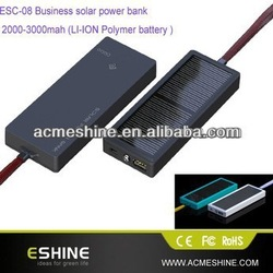 2600Mah mobile solar charger For Mobile Phone/ PDA/ MP3 USB output /solar mobile phone charger
