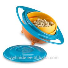 rotate gyro pet plastic bowl