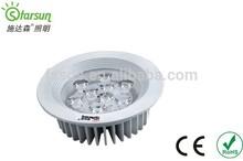 hot hot!!9W LED ceiling light 2014 new model/high power wholesale led downlight cheap price