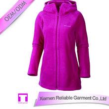 Factory price anti-pilling long sleeve custom women's coat